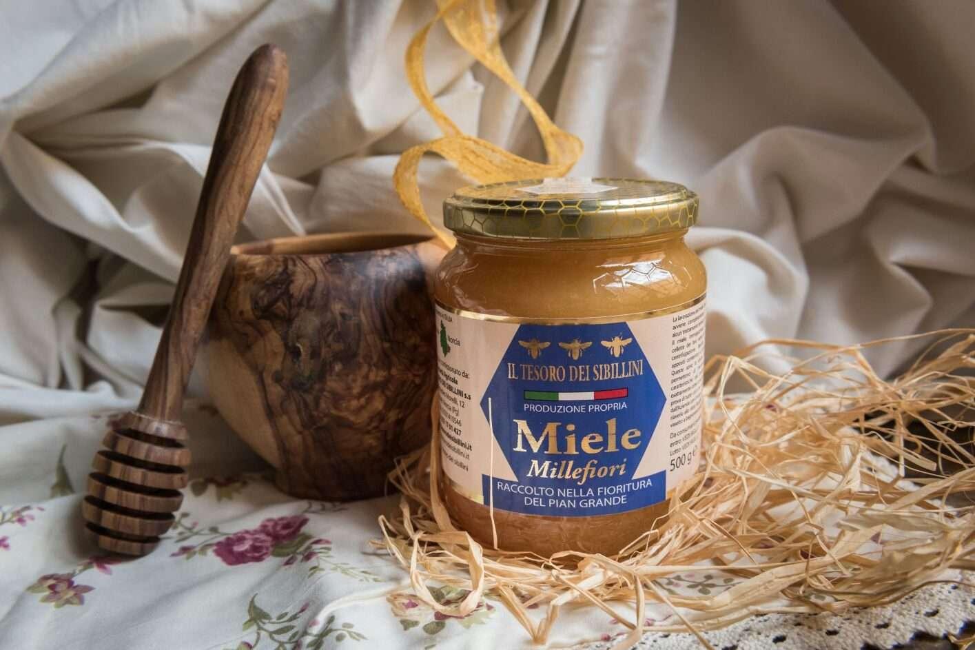 miele millefiori di Castelluccio di Norcia